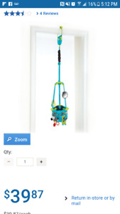 Bright Starts Bouncin Around™ Door Jumper Toy