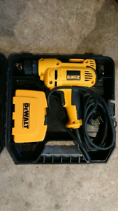 Dewalt electric drill with bonus bit set