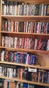 Liste de DVDs à vendre: films et séries