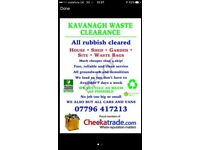 All rubbish clearance, waste removal, houses cleared and demolition cheaper than a skip