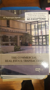 The Commercial Real Estate Transaction Texbook