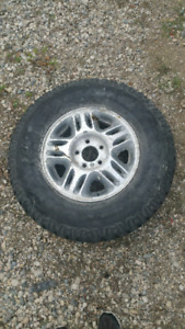 Gm Rims on Workhorse Tires