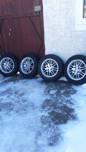 """15"""" FORD FOCUS RIMS OR FORD FIESTA ALL SEASONS TIRES 195 / 60 /"""