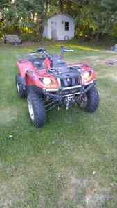2008 yamaha grizzly (will consider trades on TRUCKS ONLY!!!!!!)