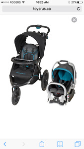 2016 Baby trend stroller, car seat and base