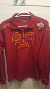 La Roma. KAPPA LONG SLEEVE SHIRT. NEVER WORN BUT NO TAGS.