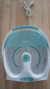 Homedics foot bath massager
