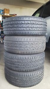 4 Contiental ProContact All Season Tires 215/55R16