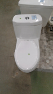 Water Ridge dual flush toilet