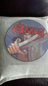 SAXON SELF TITLED PICTURE DISC VINYL !