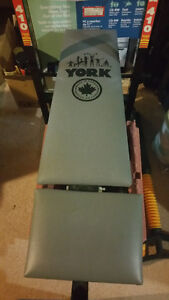 Exercise Bench with Assorted Weighs+Set of Dumbells Windsor Region Ontario image 1
