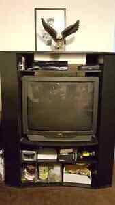 32 JVC TV and stand