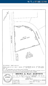 PRICE REDUCED 1.3 ACRE BUILDING LOT ON DEANS RD. WITLESS BAY
