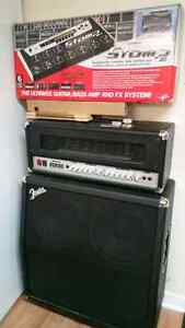 Ik media stomp box 10 with half stack and 100 tube head London Ontario image 1