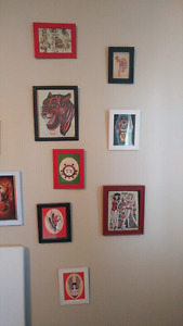 Framed Tattoo Prints