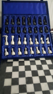 BRAND NEW MARBLE CHESS SET