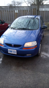 2005 Pontiac wave manual low km's