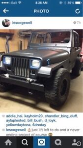 Looking for my old jeep? Sold to somebody in RED deer