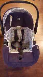 Lux car seat and stroller set