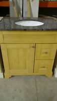 "30"" Natural Bamboo Vanities"