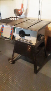 TABLE SAW – ROCKWELL BEAVER  EXCELLENT CONDITION