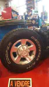 Dodge ram 2500 tire and wheels