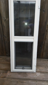 2 used vinyl windows for sale