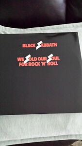 BLACK SABBATH WE SOLD OUR SOULS FOR ROCK AND ROLL ! BRAND NEW !