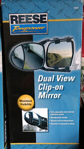 Duel View Clip on Mirrors