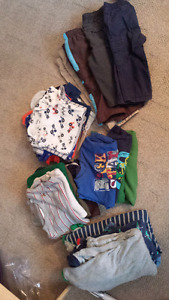 Lot of 12m boy's clothes and snow pants