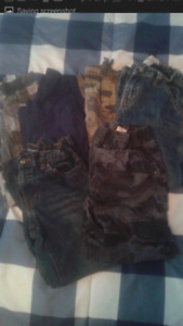 5 pairs of boys pants size 5-6