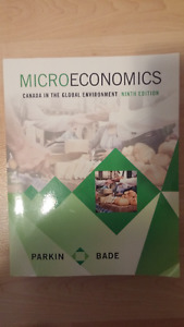 Microeconomics Canada in the Global Environment 9th Edition