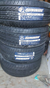 205 55 16 SET OF BRAND NEW all seasons TIRES