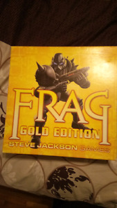 Frag Gold edition board game with FTW expansion
