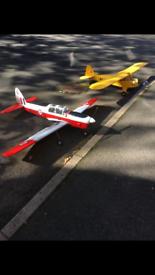 Radio controlled planes