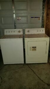 Kenmore 80 Series Electric Dryer & Washer Set For Sale