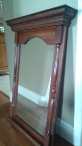 2 mirrors and a pair of wall candle sconces