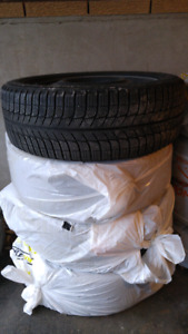 Winter Tires Micheline X-ICE Xi3 with rims 225/50R18