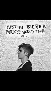 3 TICKETS FOR SALE • Justin Bieber