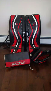 Reebok/CCM Goalie Package