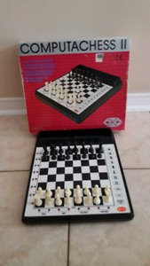 Vintage CXG Systems Computachess II 8-Level Chess Computer