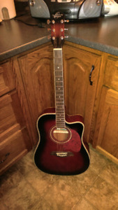 Selling my electric acoustic guitar