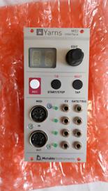 Mutable instruments Yarns (modular eurorack midi deeper make noise)