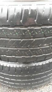 PAIR OF 205-55 SUMMER TIRES