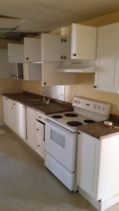 Kitchen cabinet set  and peripherals