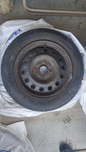 1999 Toyota Corolla All-Season Tires + Rims - 175/65R14