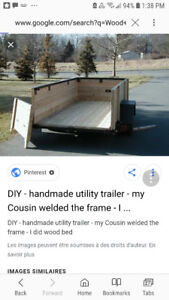 Need a small utility trailer moved from Vernon area to Kimberley