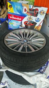 F30 bmw winter tires and OEM rims 225/45/R18