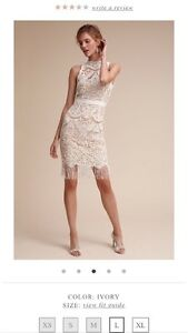 BHLDN Bailey Dress - Ivory