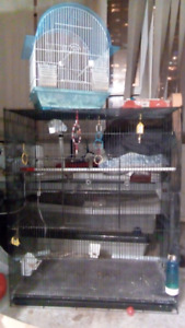 2 Birds cages for sale...and one for rats/mice...etc